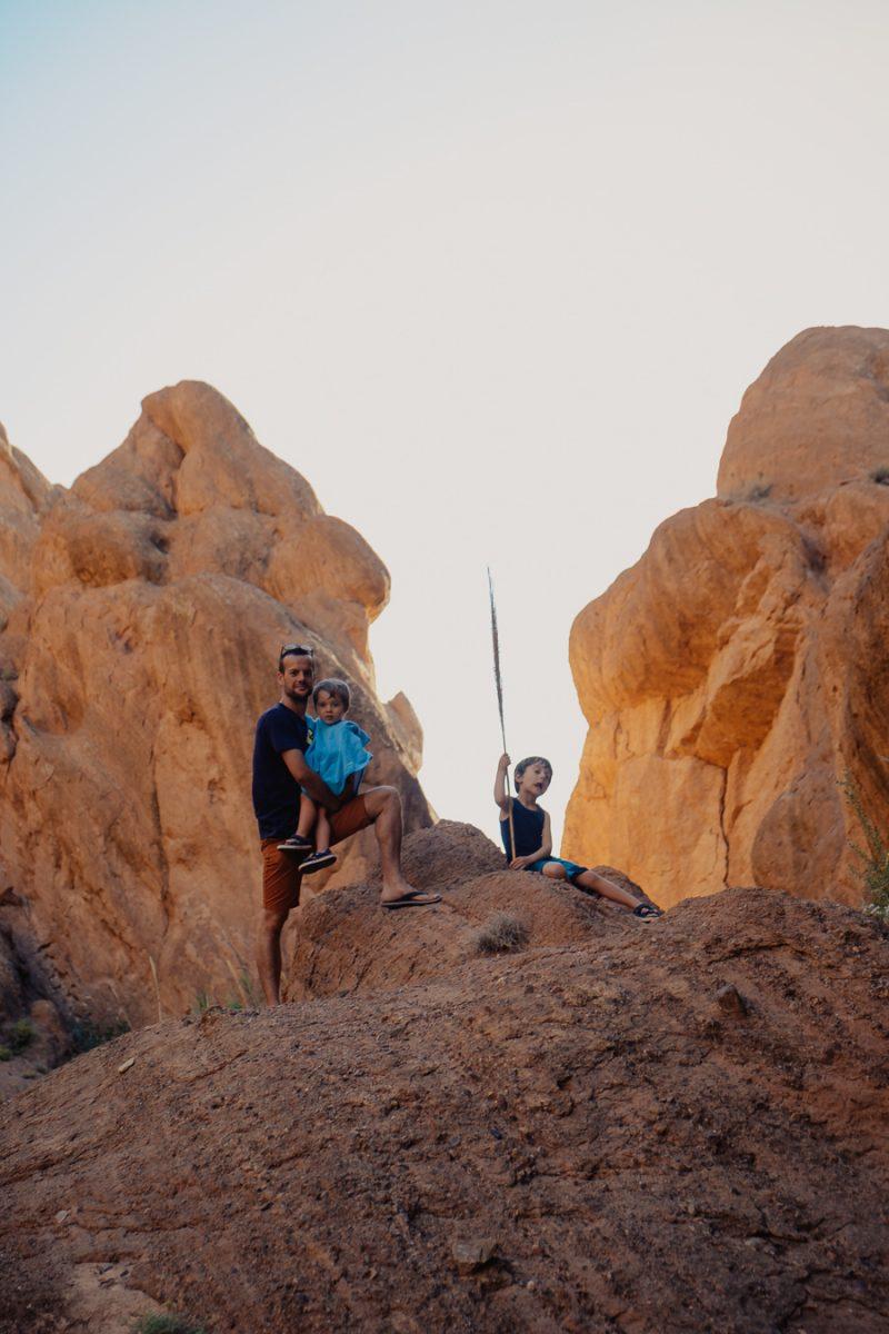 Les gorges du Dadès et randonnée dans le canyon des doigts de singe