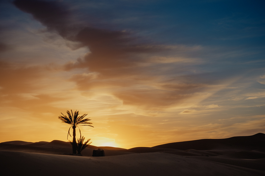 Merzouga et les dunes de l'erg Chebbi