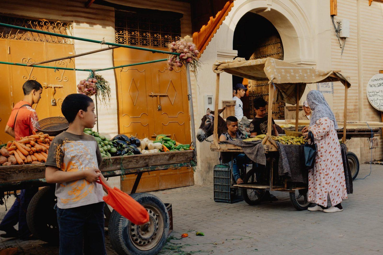 Marrakech, entre souks, école coranique et vue sur les toits