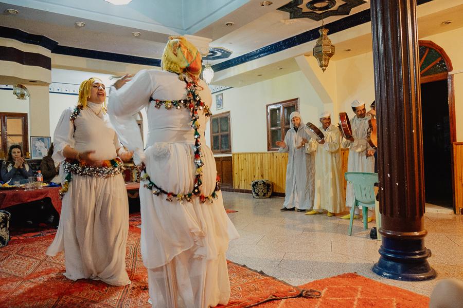 soirée et chants berberes