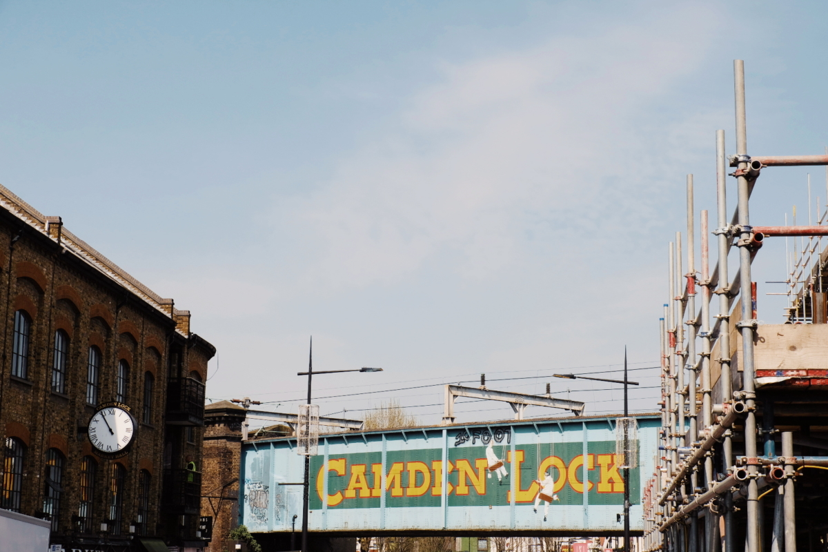 Londres - London - Camden Town Market